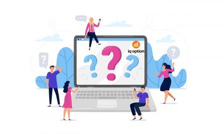 Preguntas frecuentes (FAQ) de cuentas, verificación en IQ Option
